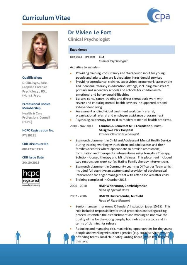CPA - Clinical Psychologist Education UK