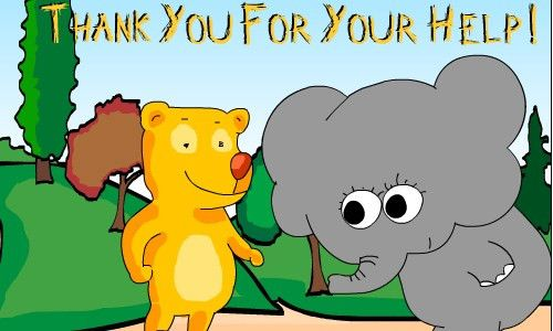 Thank You For Your Help Greeting Card. Free For Everyone eCards ...