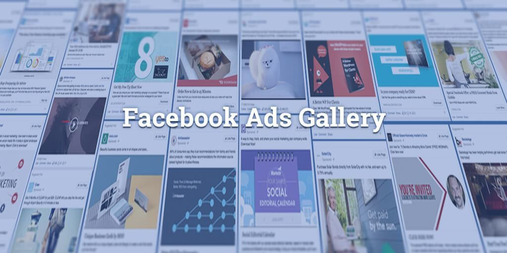66,988 Facebook Ad Examples From Every Major Industry