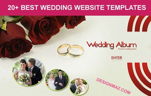 10+ Best Wedding Website Templates 2014 - DesignMaz