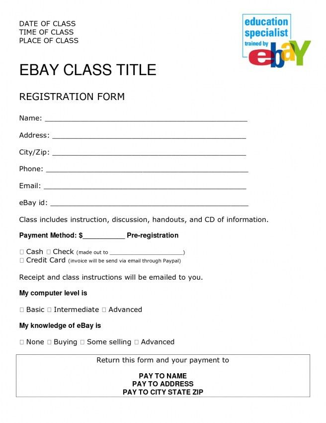 Ebay Invoice Template Word | Design Invoice Template