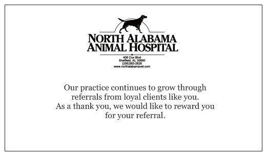 Specials - North Alabama Animal Hospital