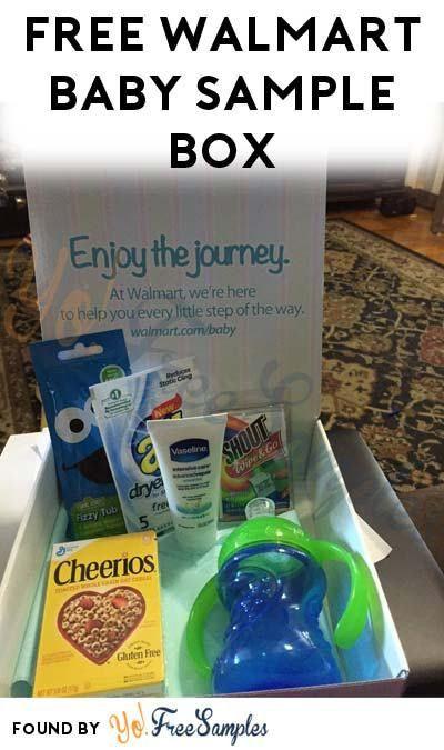 FREE Walmart Welcome Baby Box - Yo! Free Samples