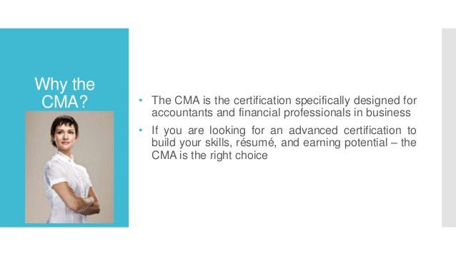 US CMA - CERTIFIED MANAGEMENT ACCOUNTANT