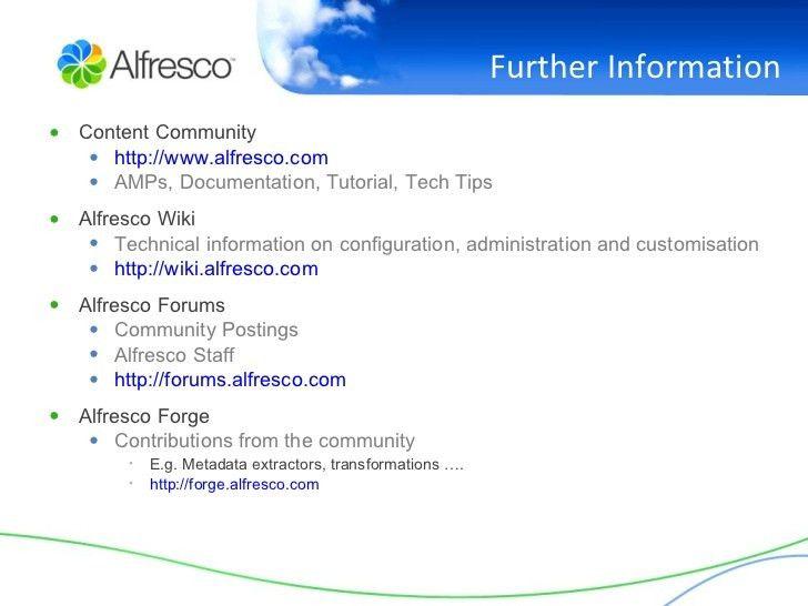 Alfresco In An Hour - Document Management, Web Content Management, an…