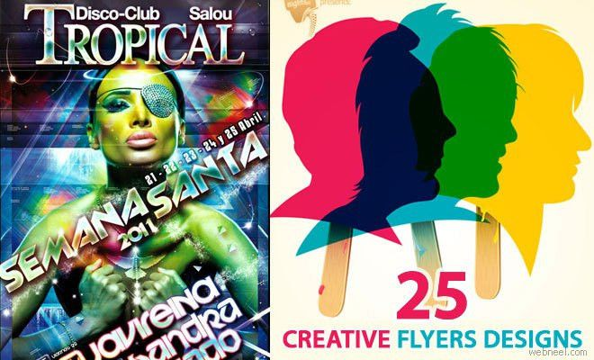 25 Creative Flyer Design Promotional Ideas for you - The Boundless ...