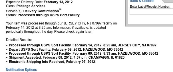 "What does ""Expected Delivery Date"" mean to you, USPS ..."