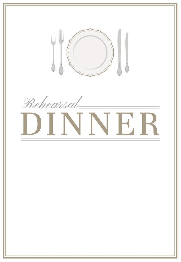 Dinner Party Invitation Template - Kawaiitheo.Com