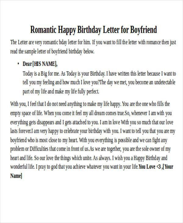 Love Letters For My Boyfriend Examples | Docoments Ojazlink