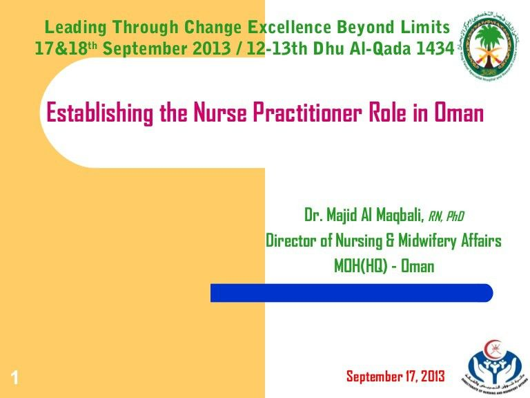 Advanced practice Majid Al-Maqbali Riyadh Sept 2013