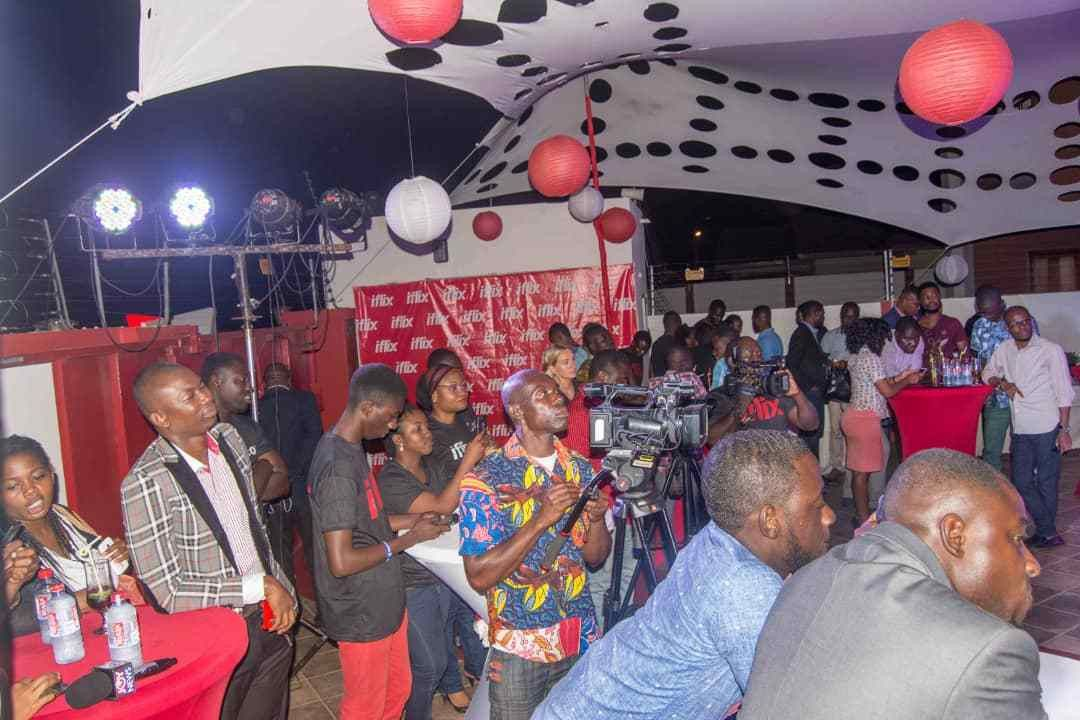 PHOTOS: iflix launches in Ghana with Chris Attoh as brand ...
