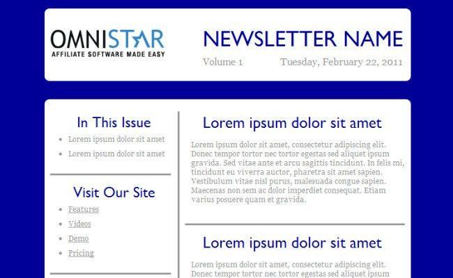 15+ Free HTML Newsletter Templates - Flashuser