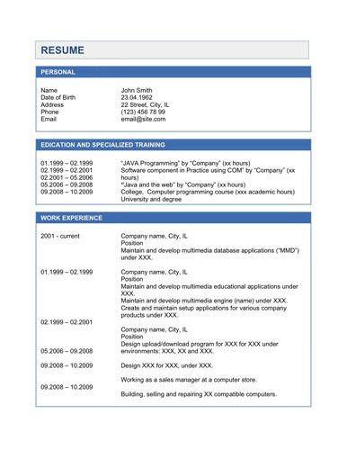 Sample Java Developer Resume. Updated Shubham Goswami Email ...
