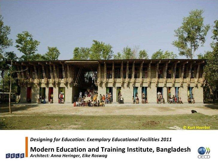 Outstanding School Buildings Oecd Bfe Mena 2011