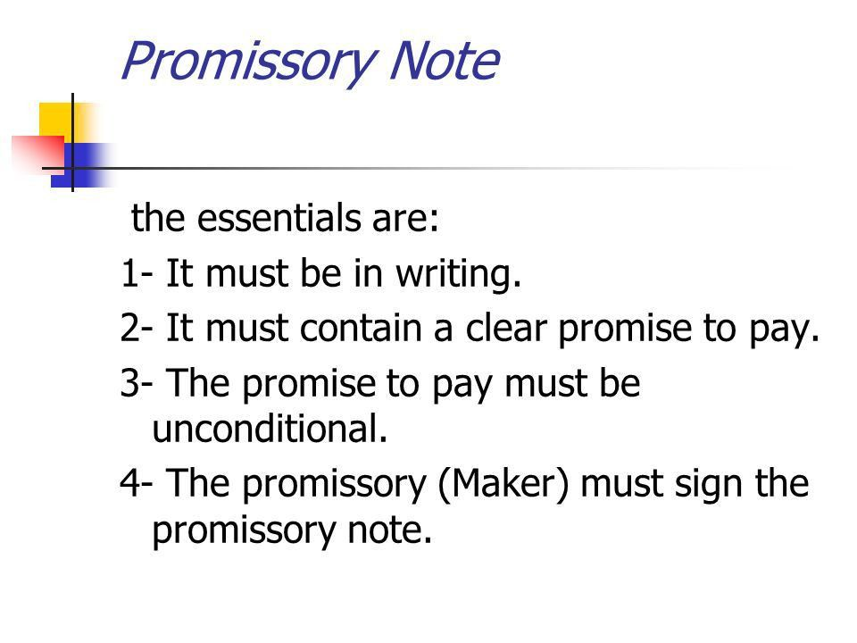 Chapter 7 Accounting for Promissory Note Ibrahim Sammour. - ppt ...