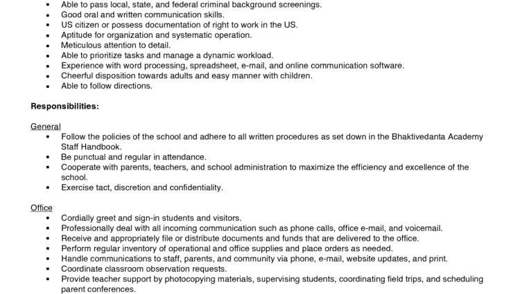 Office Assistant Job Description qualifications responsibilities ...