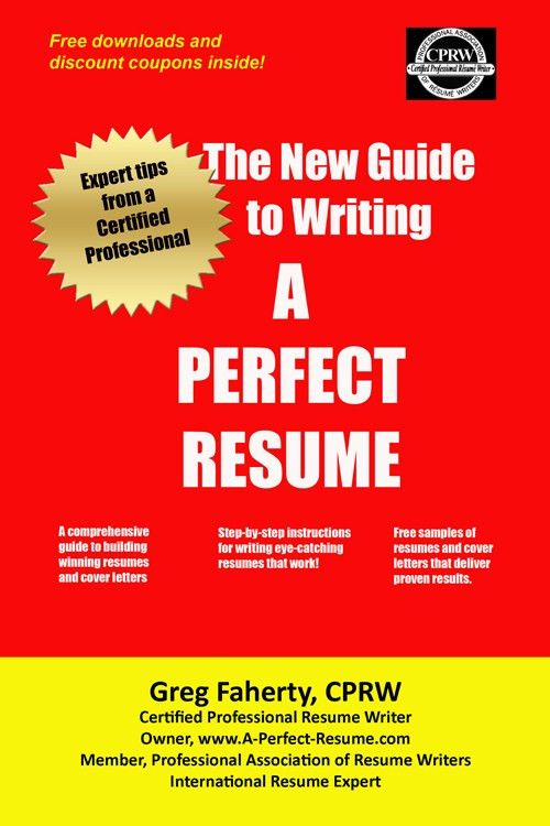 Professional Resume Writers | Certified Professional Resume Writer ...
