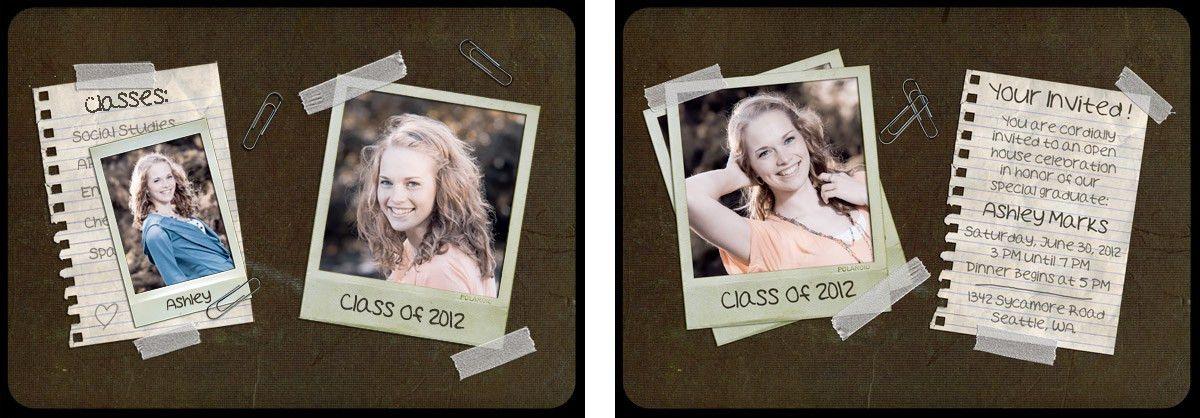 Free 5x7 High School Senior Portrait Templates - The F/Stop Spot ...