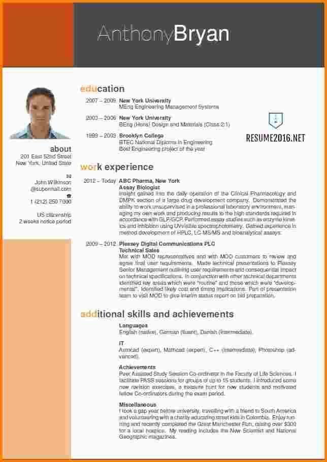 Stylist Design Effective Resume Formats 2 Samples For All ...