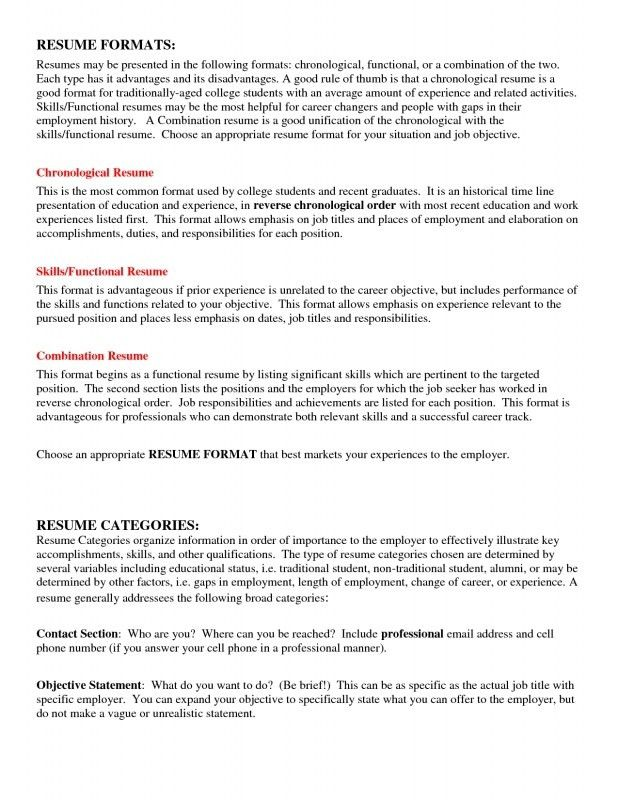 Objective Statement For Resume College Student. 6 resume examples ...