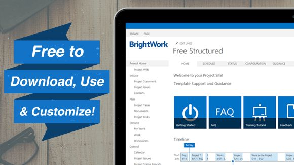 Free SharePoint Project Management Templates - BrightWork
