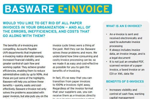 Basware - Say hello to Basware: Purchase to Pay and e-invoicing ...