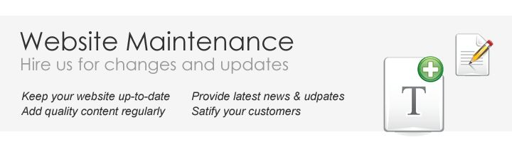 Malaysia website maintenance package - Malaysia Web Site ...