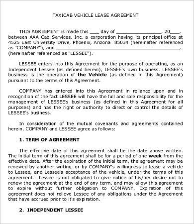 Private Lease Agreement Template - 7+ Free Word, PDF Documents ...