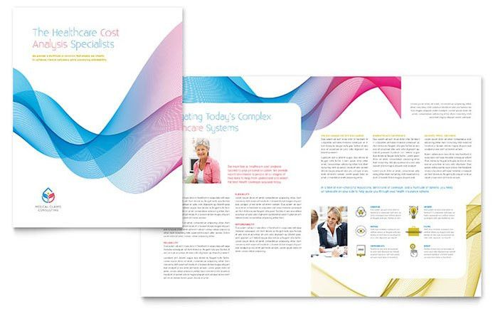 Insurance Consulting Brochure Template - Word & Publisher