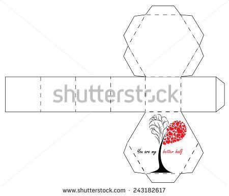 Gift Box Template Stock Images, Royalty-Free Images & Vectors ...