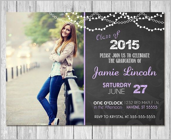 Graduation Invitations Template for extra ideas #38317 ...