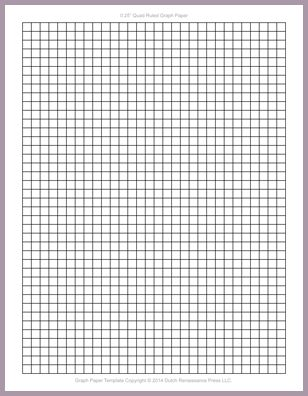 1 4 Graph Paper.Graph Paper Template Letter 0.25 Inch Quad Ruled ...
