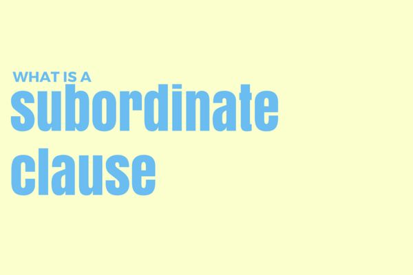 Grammar Girl : What Is a Subordinate Clause? :: Quick and Dirty Tips ™