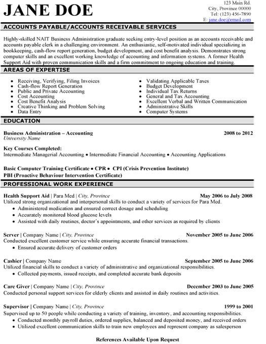 Click Here to Download this Accounts Payable Resume Template! http ...
