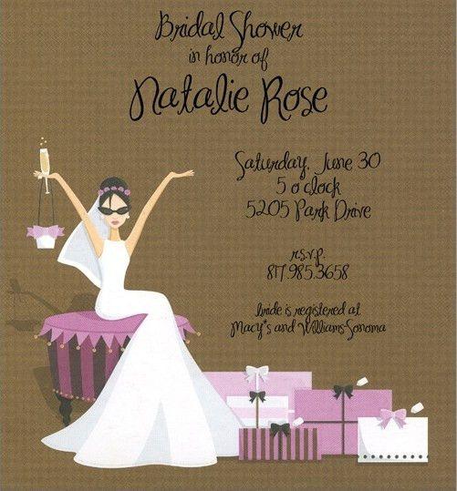 Bridal Shower Invitation Templates – gangcraft.net