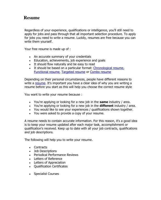 proper format of a resume proper format for a resume proper resume