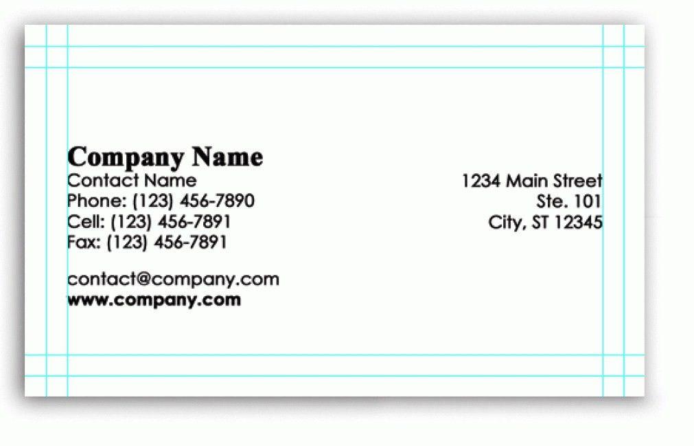 Modern Blank Business Card Template Psd DY4P1 – Dayanayfreddy