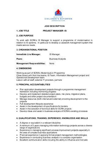 Job Description Player Development Officer