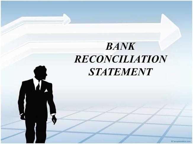 BANK RECONCILIATION STATEMENT  authorSTREAM