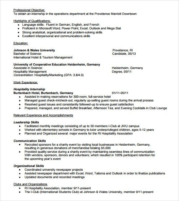 10+ Event Planner Resume Templates - Free Samples , Examples