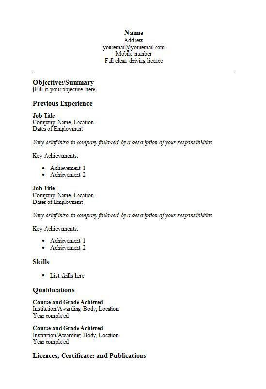 Resume writing basic tips & How To Make An Essay Look Longer ...