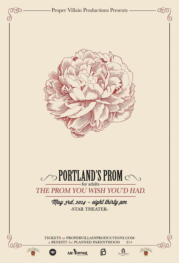 Prom Poster | Collateral Design | Pinterest | Logos