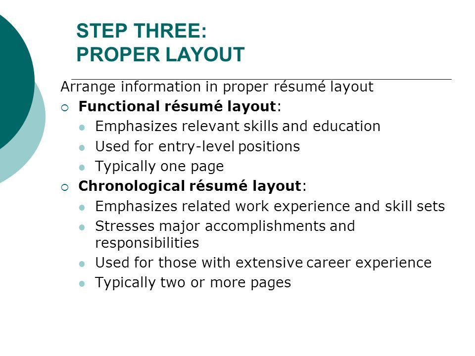 Chapter 14 Resumé Package. - ppt download
