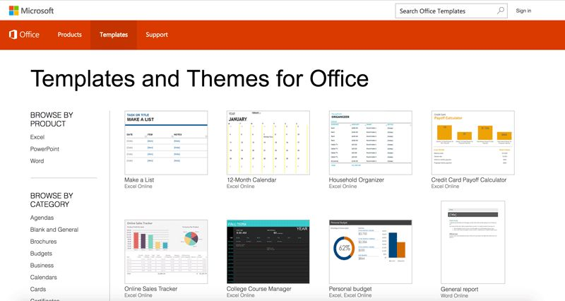 Microsoft Office Templates | Best Business Template