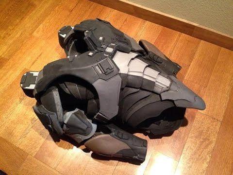 Spartan Locke Inside Look - Movable EVA Foam Undersuit - YouTube ...