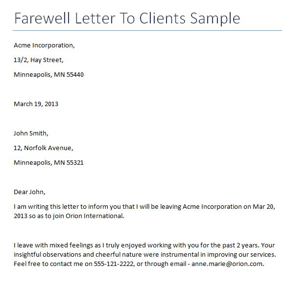Resignation Letter Format: Solutions Leaving Resignation Letter To ...