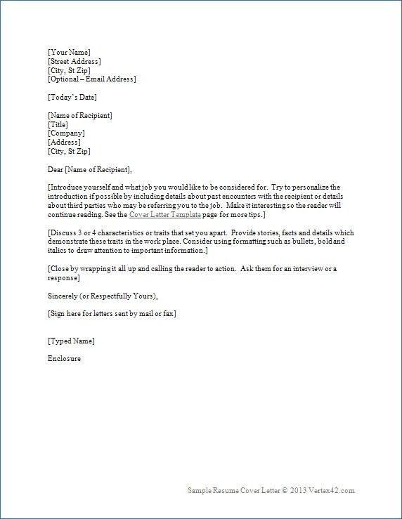 cover letter how to write cover letters resume writing a cover ...