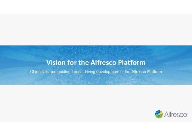 Alfresco Day Amsterdam 2015 - Developer Platform Updates
