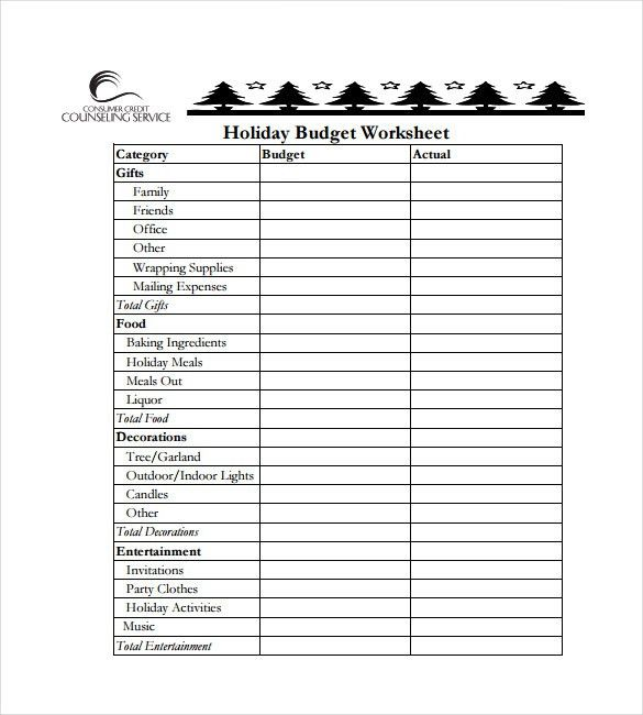 14+ Budget Spreadsheet Templates – Free Sample, Example, Format ...