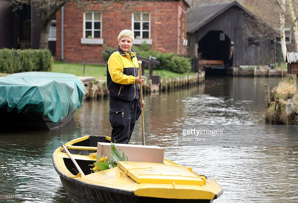 Post Delivered By Boat In Spreewald Canals Photos and Images ...